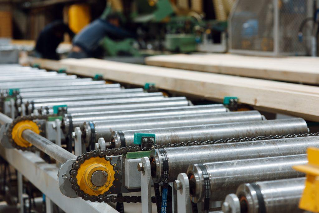 Wiper Roller Conveyor