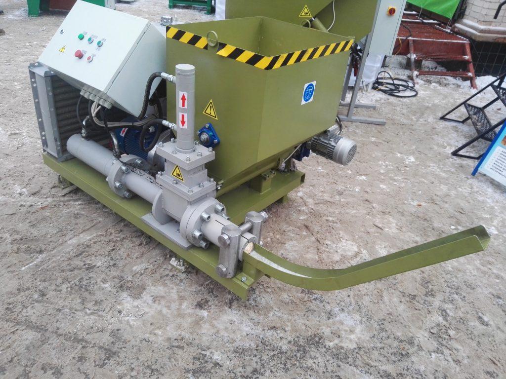 Press hydraulic briquetting PGB-100